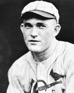 Picture of Rogers Hornsby who debuted in 1915